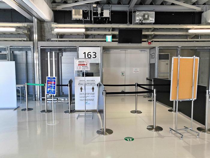 成田国際空港 第3ターミナル サテライト搭乗待合室の搭乗口