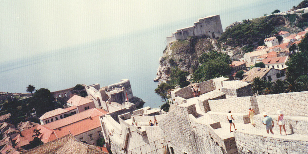 モンテネグロ 要塞都市 ブドヴァ 旧ユーゴスラビア