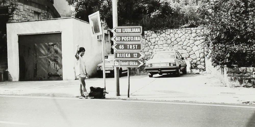 Hitchhike, yugoslavia.